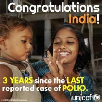 India Polio Progress