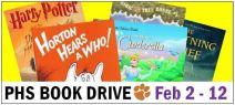 PHS Book Drive 2015